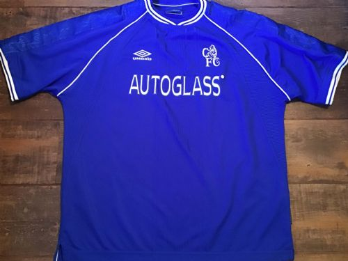 1999 2001 Chelsea Home Football Shirt 2XL XXL